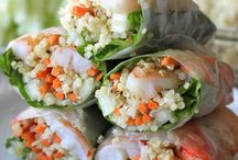 Sushi and ceviche / Perfect sushi and ceviche for a party