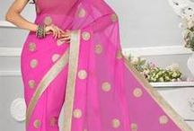 Collection of Fancy Sarees! / Fabulous collection of Trending Fancy Sarees!  SHOP NOW - http://bit.ly/1rFz9LL