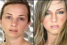 Power of make up / potęga miakijażu / Zobacz jak makijaż potrafi zmienić kobietę // See how make up can change the woman