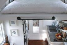 Space saving stuff like loft beds