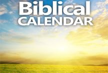 Biblical Calendar / Articles about keeping time the way it was done in biblical times.