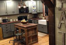 Rustic Kitchens