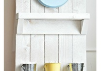 Organization: Inspiration / Decor and fun ideas to organize using repurposed items.  ReHouse has the salvaged items you need to add these organizational elements to your home!  www.rehouseny.com