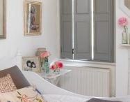 Solid panel window shutters