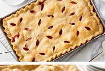 slab pies sweet and savory