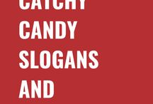 Candy Slogans and Taglines