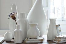 White Dishes/Home Decor