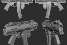 ASCEND GUN / Project: ASCEND Client: GAMERSFONTIER Concept by http://www.rmory.net/ Modeling, Texture by D'sculpt Team. Software: Maya, Shop, Quixel & Marmoset.  Project game which we are engaged working for Ascend Team. Please visit the link to check out their progress for the Ascend game. Link to the Ascend game project: http://www.indiedb.com/games/ascend1