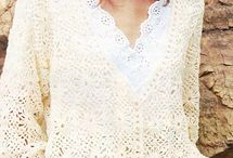 Crochet patterns clothes/Hekel patrone klere / Crochet