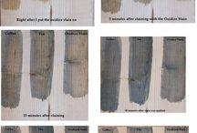Oxidize wood stain