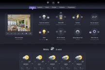Interface de pilotage MyOmBox / Découvrez l'interface multiplateforme de contrôle de votre installation domotique grâce au système MyOmBox. Système dédié myHome by Legrand / Bticino / Arnould