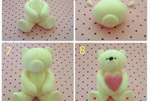 fondant animals step by step
