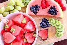 meyve sunumları