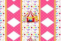 Festa com temática de circo