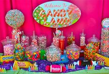 Party Theme:  Candy Land