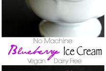Veganna eat ice cream