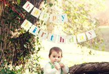 Birthday Banners / Birthday Banners made out of Wood, Chipboard Or Burlap.