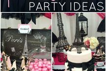Paris Party Decor