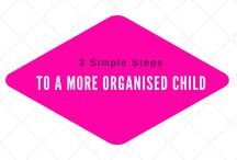 How to Help Your Child Become More Organised in 3 Simple Steps / www.mumslounge.com.au · Let us inspire you with delicious recipes, fun craft suggestions, the latest in fashion and beauty, home improvement ideas....