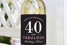 40 & Fab Event Inspiration