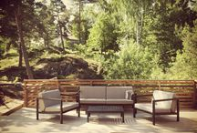 Outdoor living / Garden furniture, Syndays design.