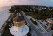 Rear Range Light / Rear Range Light on Gasparilla Island, constructed 1927.