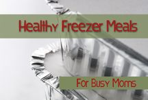 Healthy freezer meals / by Joan Powell