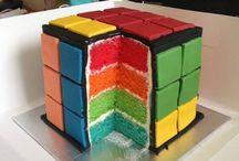 Rubik's Cube Birthday Party