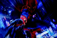 Portfolio—SONY, The Amazing Spider-Man / Since I was a kid, I always loved this character, and I'm sure I'm not the only one that fantasized about  walking on the ceiling to escape a crazy lady. I had the opportunity to work on this project with the guys at Struck, in Salt Lake City. Sony gave me access to raw high resolution images of the character from the movie on a black, flat backround. I used those to create these illustrations, designed to show the main character in action. 