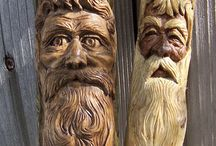 Wood carving / ♥ ♥ ♥