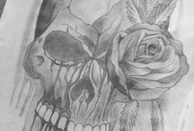 Skull / My artworks