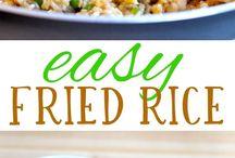 Recepten / Fried rice(quinoa?)