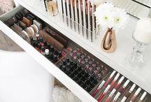 Makeup setup