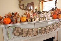 fall ideas / by Peggy Krakeel