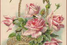 Vintage Bloemen.