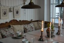 Decorating - shabby chic / Lovely & low key vintage looks and ideas.......
