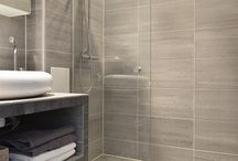 Tile colour for main bathroom / Colour and general idea of look for main bathroom