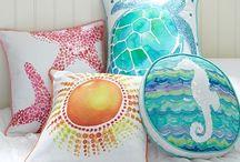 Tecidos / Tapetes e almofadas