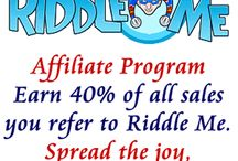 Opportunities / Riddle Me (RiddleMe.com) has an affiliate program where you can earn 40% of the sales you refer to our site. We use Shareasale as our affiliate program manager to keep things really simple for you. You refer people in, you get paid. If you'd like to sign up, click here: http://www.shareasale.com/shareasale.cfm?merchantID=43961. Riddle Me's powerful engine and easy to use interface makes party activities almost as fun to make as they are for kids to enjoy! Check it out today.