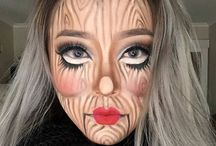 Grime make up art