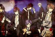 Anime / Fairy tail, Diabolik lovers, Snow white with the Red hair