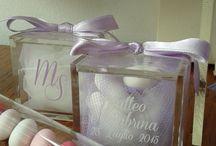 For wedding / Tutto ciò che serve per rendere unico il matrimonio, bomboniere, cadeau de mariage, partecipazioni, confetti, sacchettini, articoli regalo