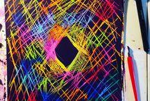 Color.miecc / Some mixed media art
