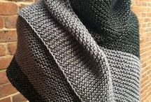 knitted shawl adults