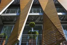 Timber Cladding / wood facade systems, materials and examples