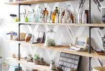 side wall shelving