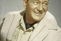 John Wayne / Marion Mitchell Morrison(bornMarion Robert Morrison; May 26, 1907– June 11, 1979), known professionally asJohn Wayneand nicknamedDuke, was an American actor and filmmaker. AnAcademy Award-winner forTrue Grit(1969), Wayne was among the top box office draws for three decades.
