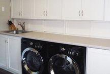 CD³ Inc - Contemporary Laundry Room Renovation / Coleman-Dias³ Construction Inc - Contemporary Laundry Room Renvoation / by Coleman-Dias³ Construction