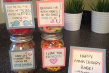 Birthday/anniversary ideas
