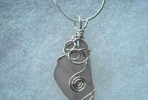 sea glass jewelry / by Lisa Tomblin